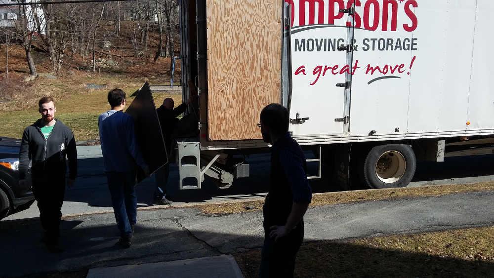 Thompson's moving